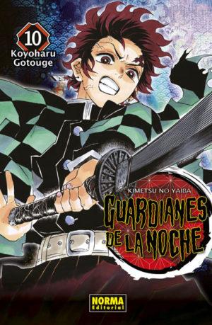 Manga Guardianes de la Noche 10