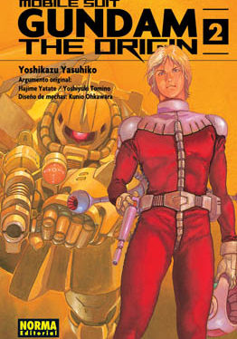 Gundam The Origin manga tomo 2
