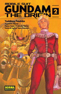 Gundam The Origin manga tomo 2