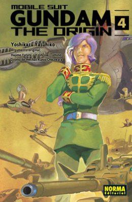 Gundam The Origin manga tomo 4