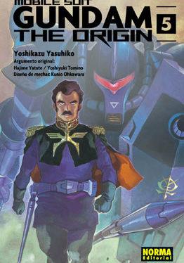 Gundam The Origin manga tomo 5