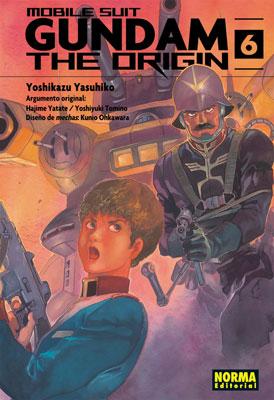Gundam The Origin manga tomo 6
