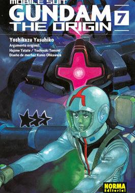 Gundam The Origin manga tomo 7