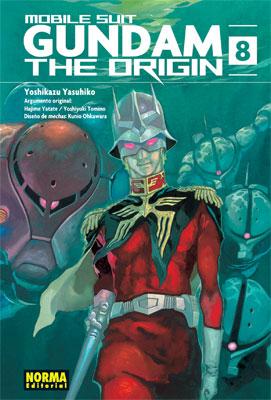 Gundam The Origin manga tomo 8