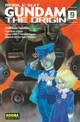 Gundam The Origin manga tomo 9