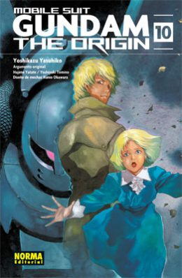 Gundam The Origin manga tomo 10