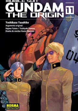 Gundam The Origin manga tomo 11