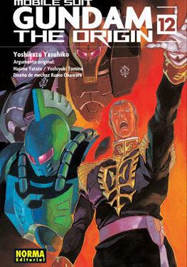 Gundam The Origin manga tomo 12