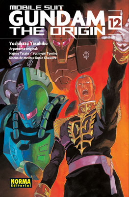 Gundam The Origin manga tomo 12