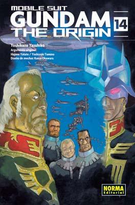 Gundam The Origin manga tomo 14