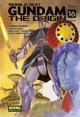 Gundam The Origin manga tomo 16