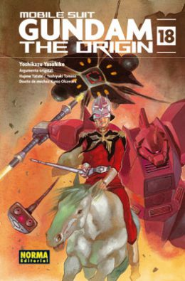 Gundam The Origin manga tomo 18