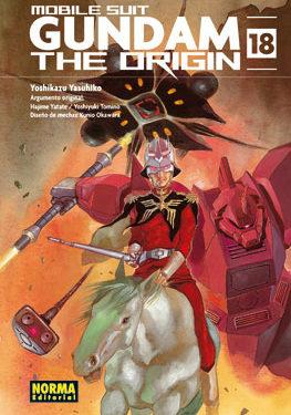 Gundam The Origin manga tomo 18