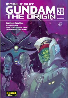 Gundam The Origin manga tomo 20