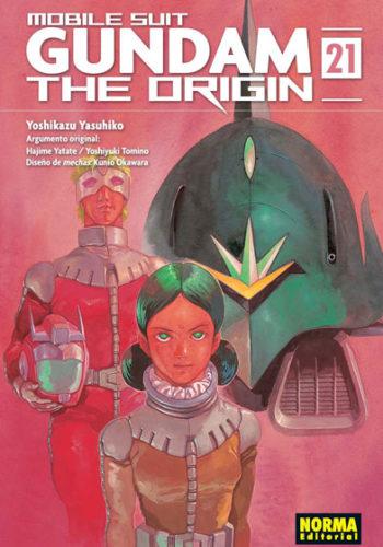 Gundam The Origin manga tomo 21