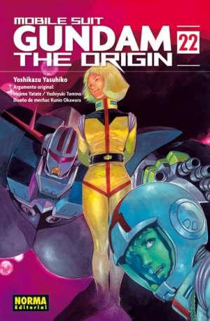 Gundam The Origin manga tomo 22