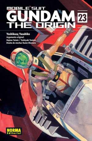 Gundam The Origin manga tomo 23