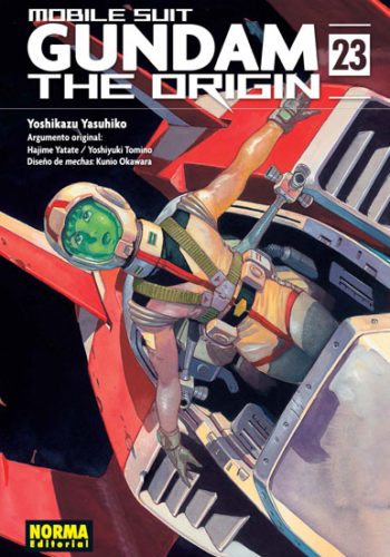 Gundam The Origin manga tomo 23