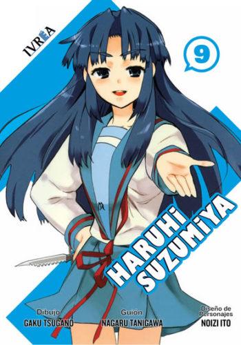 Haruhi Suzumiya Manga Tomo 9
