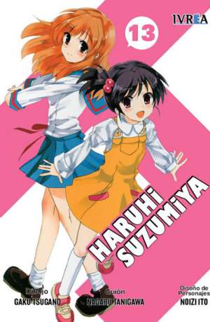 Haruhi Suzumiya Manga Tomo 13