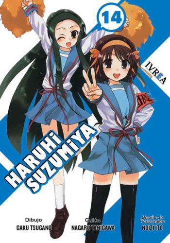 Haruhi Suzumiya Manga Tomo 14