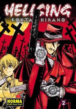 Hellsing manga tomo 2