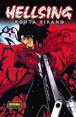 Hellsing manga tomo 4