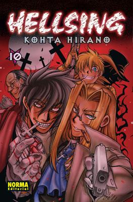 Hellsing manga tomo 10