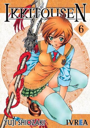 Ikkitousen manga tomo 6
