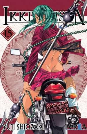 Ikkitousen manga tomo 15