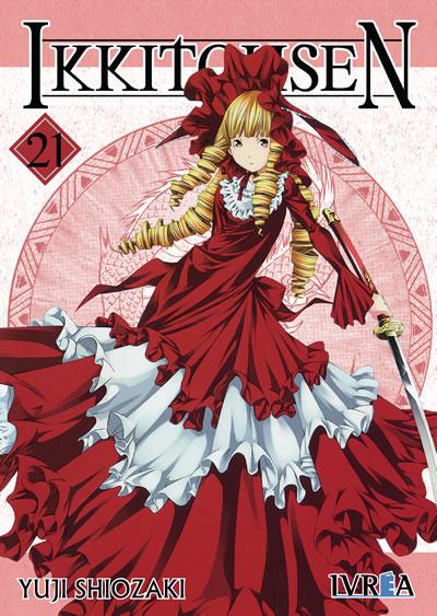 Ikkitousen manga tomo 21