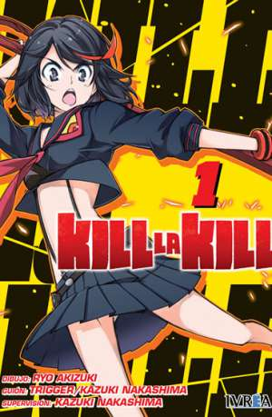 Kill La Kill manga tomo 1