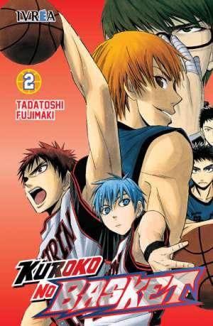 Kuroko No Basket Manga Tomo 2