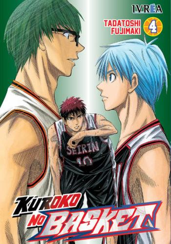 Manga Kuroko No Basket tomo 04