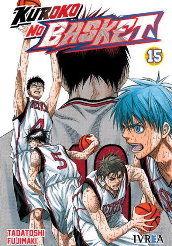 Manga Kuroko No Basket tomo 15