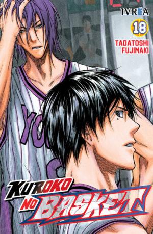 Manga Kuroko No Basket tomo 18