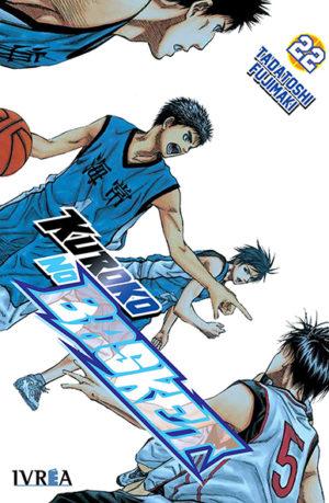 Manga Kuroko No Basket tomo 22