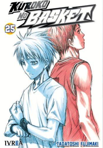 Manga Kuroko No Basket tomo 25