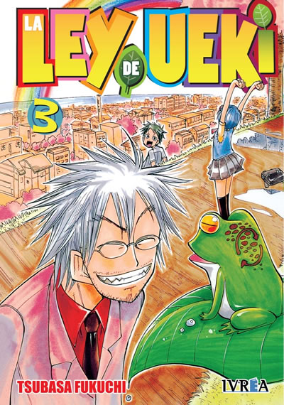 La Ley De Ueki Manga Tomo 3