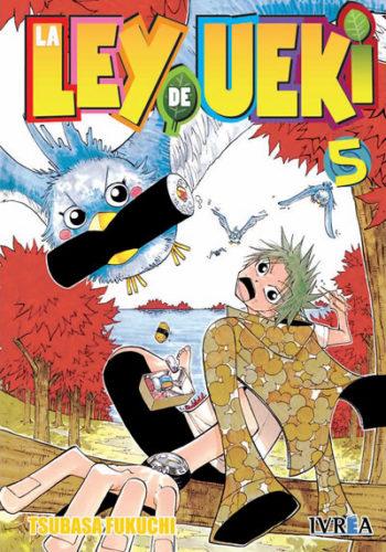 Manga La Ley De Ueki Tomo 05