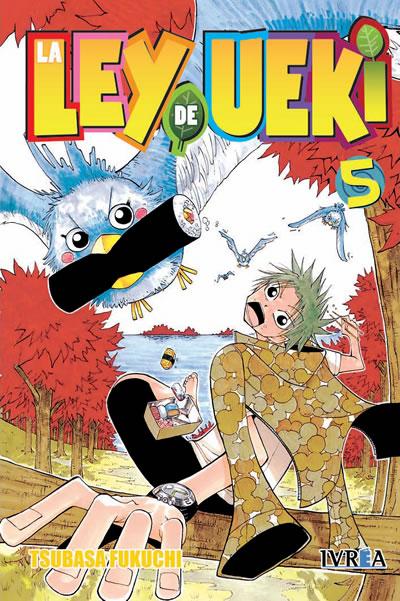 La Ley De Ueki Manga Tomo 5