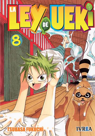 La Ley De Ueki Manga Tomo 8