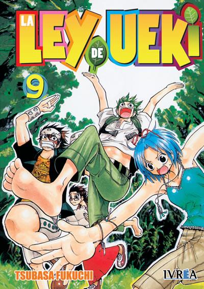 La Ley De Ueki Manga Tomo 9