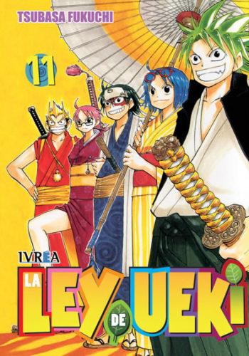 La Ley De Ueki Manga Tomo 11