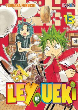 La Ley De Ueki Manga Tomo 13