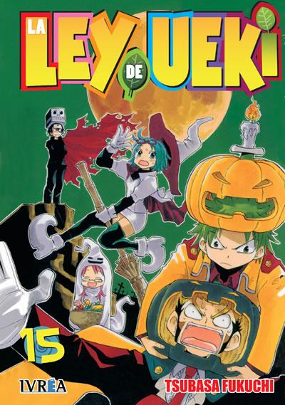 La Ley De Ueki Manga Tomo 15