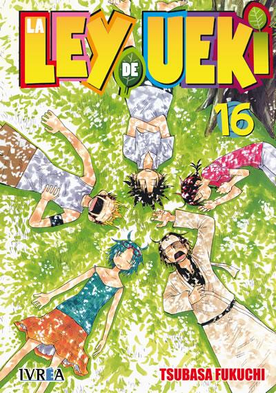 La Ley De Ueki Manga Tomo 16