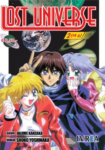 Manga Lost Universe Tomo 02