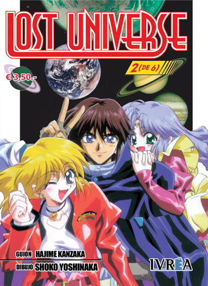 Lost Universe Manga Tomo 2
