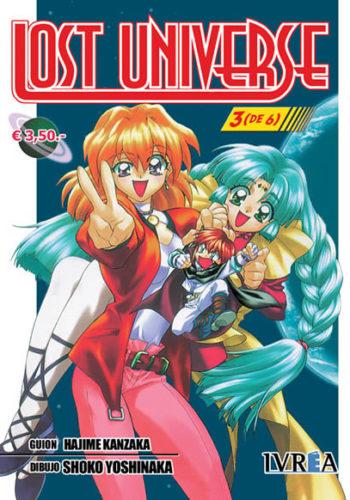 Lost Universe Manga Tomo 3